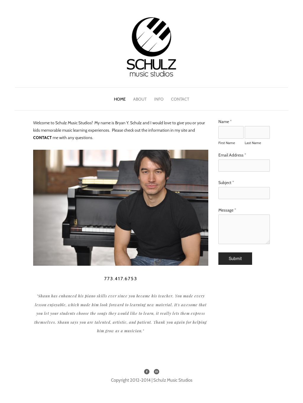 Schulz Music Studios Logo