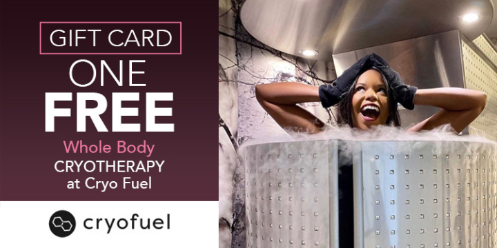One FREE Whole Body Cryotherapy at Cryo Fuel offer image