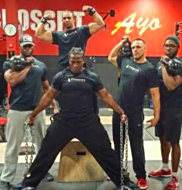 Studio Ayo Fitness Logo