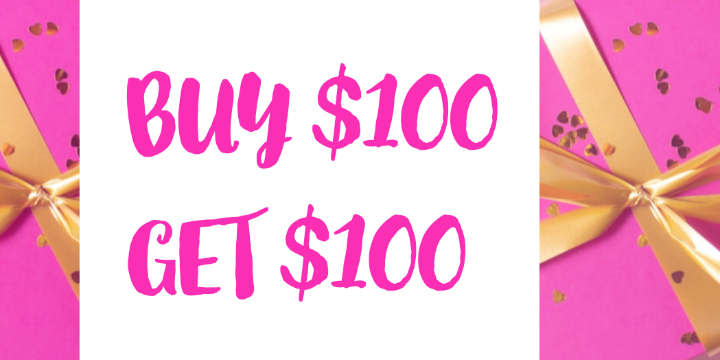 $100 for Buy $100 In Gift Cards Get $100 Free at Pickture Perfect Brows & Beauty Boutique (50% discount) offer image