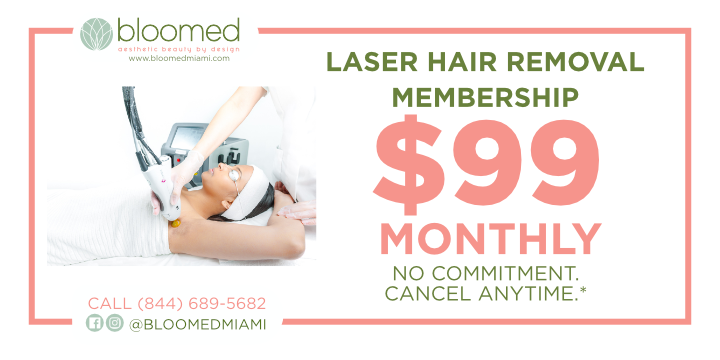 $99 Laser Hair Removal Membership+ up to 40% on other services & products  - Partner Offer Image