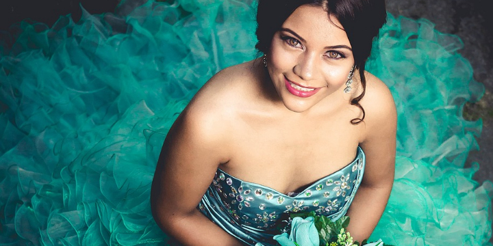 $140 for Quinceañera Volume Lash Extension's at La Vie Organique Spa (48% discount) - Partner Offer Image