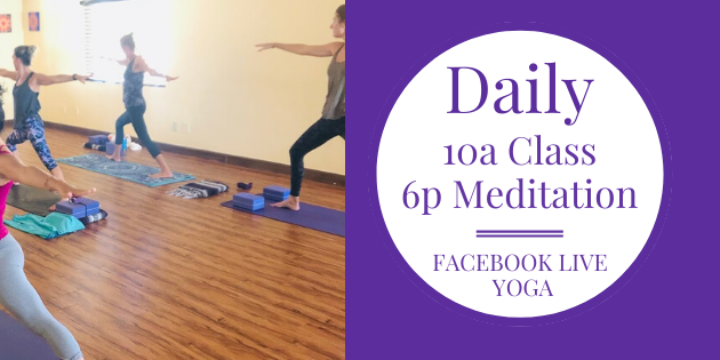 ONLY $1.99 for 30 days of daily ONLINE Yoga Class + Meditation - Partner Offer Image