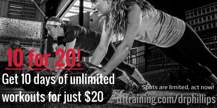 10for20 at D1 Training Dr. Phillips  - Partner Offer Image