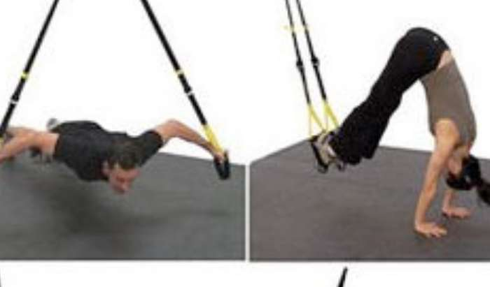 TRX Suspension Training article image