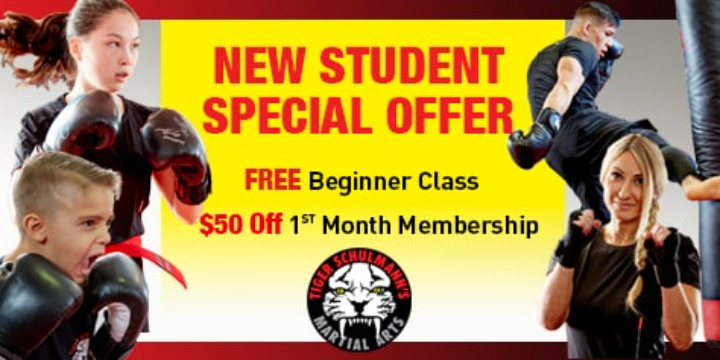New Student Special - Free Beginner Class + $50 OFF offer image