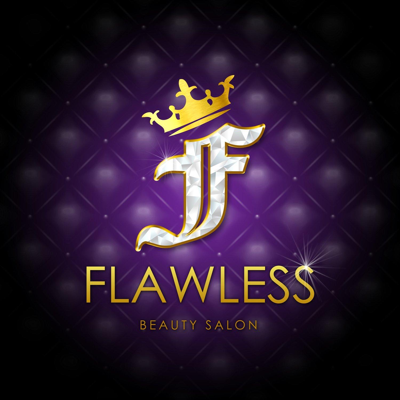 Flawless Beauty Salon Logo