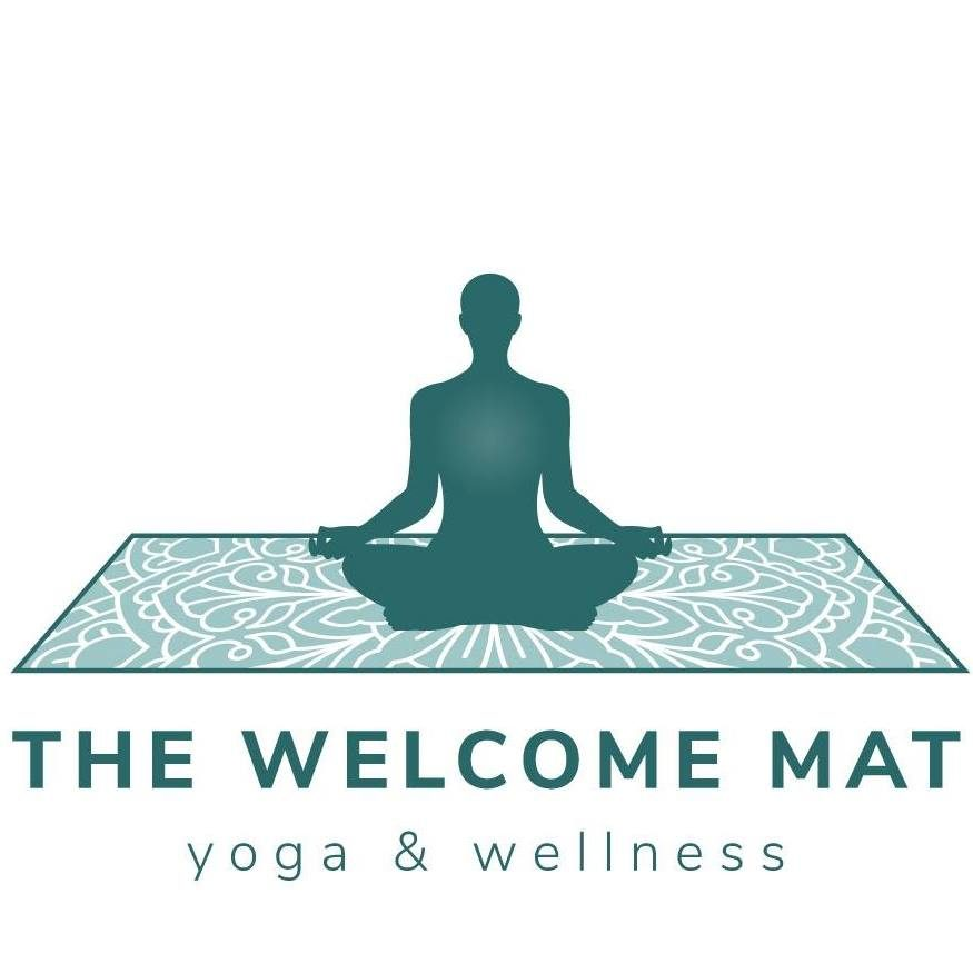 The Welcome Mat Yoga and Welln Logo