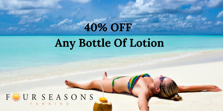 Limited Time Offer: 40% OFF Any Bottle of Lotion offer image