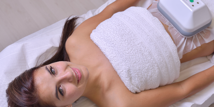$400 for 4 Fat Freezing Sessions with Cellulite Velashape and cavitation at Spa Marija (50% discount) offer image