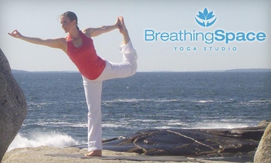 Breathing Space Yoga and Wellness Studio Tantallon Logo