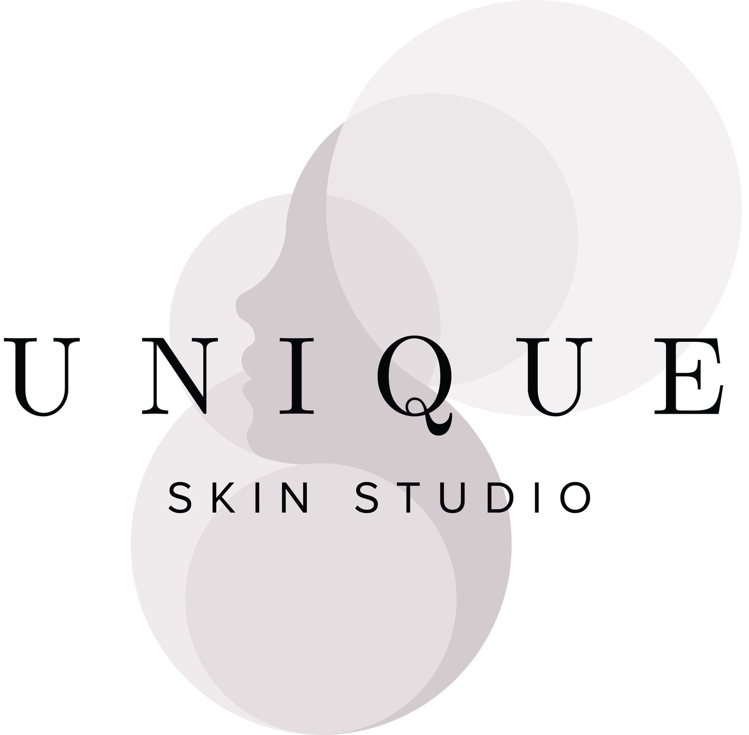 Unique skin studio Mobile Logo