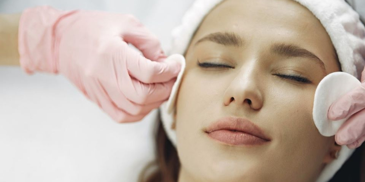 Exclusive - 50% OFF - For LED Peel Facial- a multi step treatment consisting of a stimulating  peel and low level laser (LED) to freshen up your skin offer image