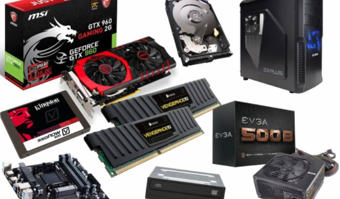 Buy all new PC components and parts