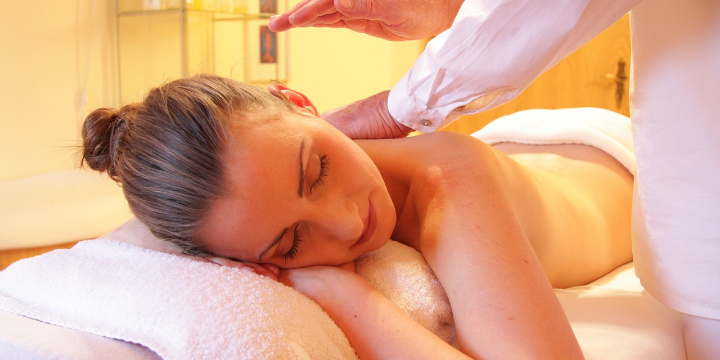 A 90 minute massage with the hand or foot treatment of your choice for only $121 offer image