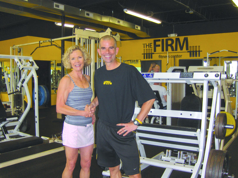 The Firm Fitness Center Logo