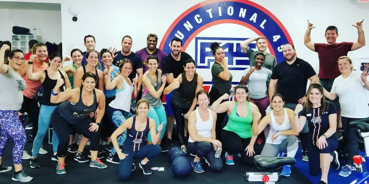 One Week Free at F45 Cranford! (locals only within 10 miles) offer image