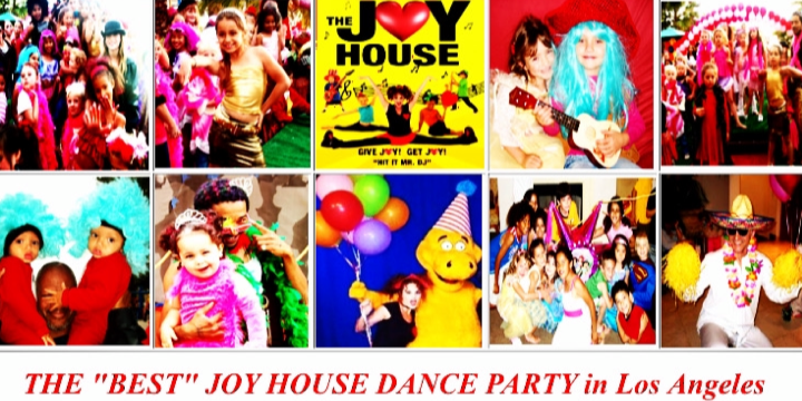$100 OFF THE JOY HOUSE DANCE PARTY! It's been called THE BEST PARTY EVER (1 or 2 hours for unlimited kids) - Partner Offer Image