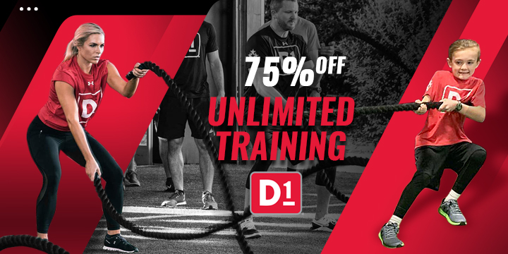 75% OFF Unlimited Training  offer image