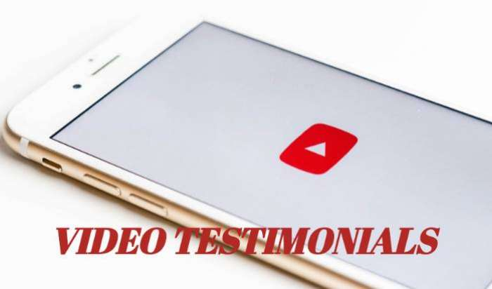 Click below to see video Testimonials article image