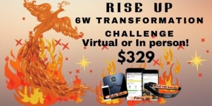 $329 for Rise up  2021 Transformation Challenge at Alana Life & Fitness (45% discount) - Partner Offer Image
