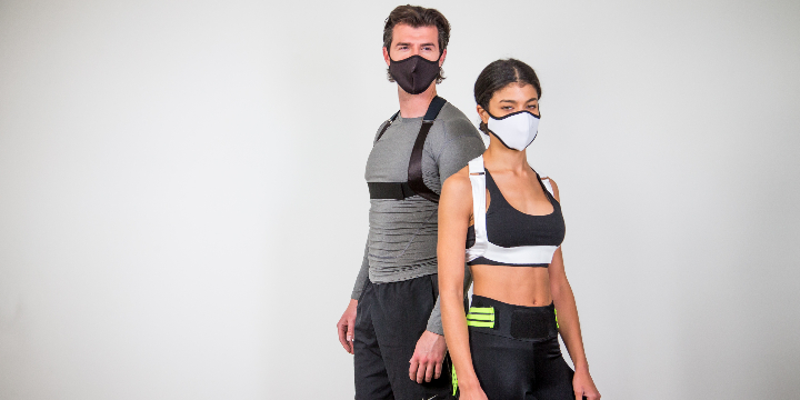 Get FREE MASK with Bax-u Posture Corrector Brace  offer image