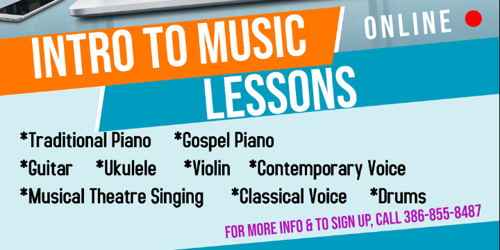 $60  Intro to Music Lessons offer image