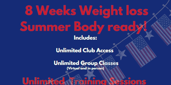 $1119.99 8 weeks Weight loss Summer Body   at Alana Life & Fitness (50% discount) - Partner Offer Image