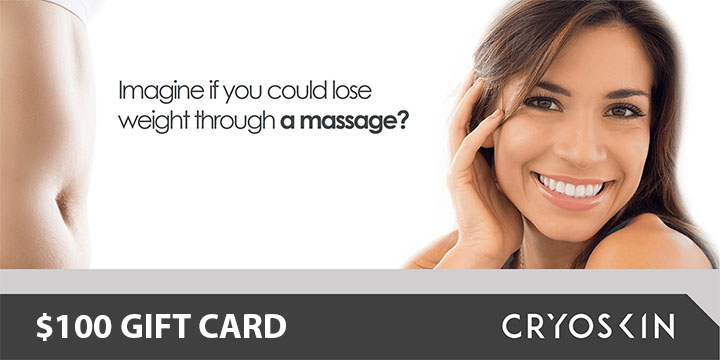 $100 GIFT CARD towards CRYOSKIN session  offer image