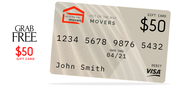 FREE $50 GIFT CARD towards your 1st move offer image
