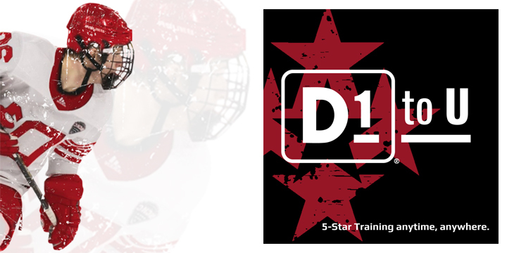 HOCKEY SPECIFIC TRAINING STRENGTH AND CONDITIONING > Administered virtually through the D1 to U platform offer image