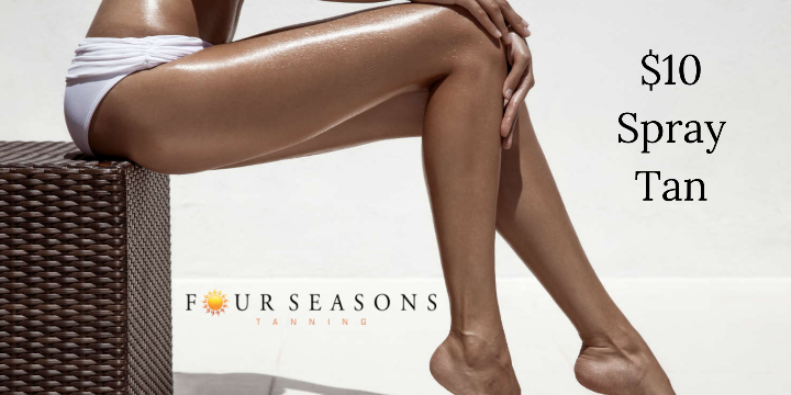 SAVE- Any Level Spray Tan For ONLY $10 offer image
