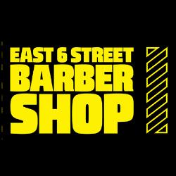 East 6th Street Barber Shop Logo