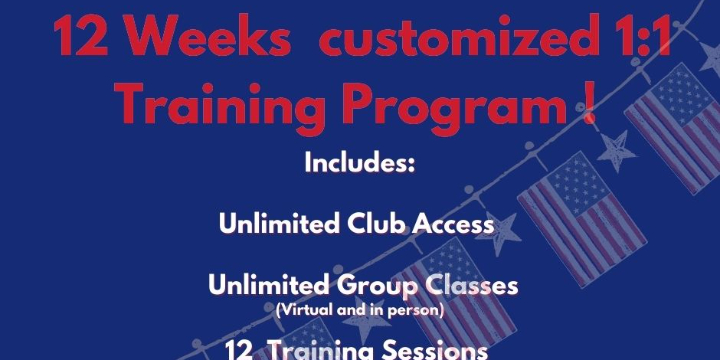$529.99 for 12 weeks Customized 1:1 Training  Program  at Alana Life & Fitness (29% discount) - Partner Offer Image