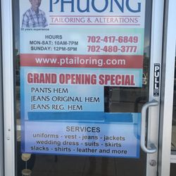 Phuong Tailoring and Alteratio Logo