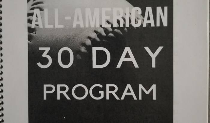 Camwood ALL American 30 Day Hitting Program image