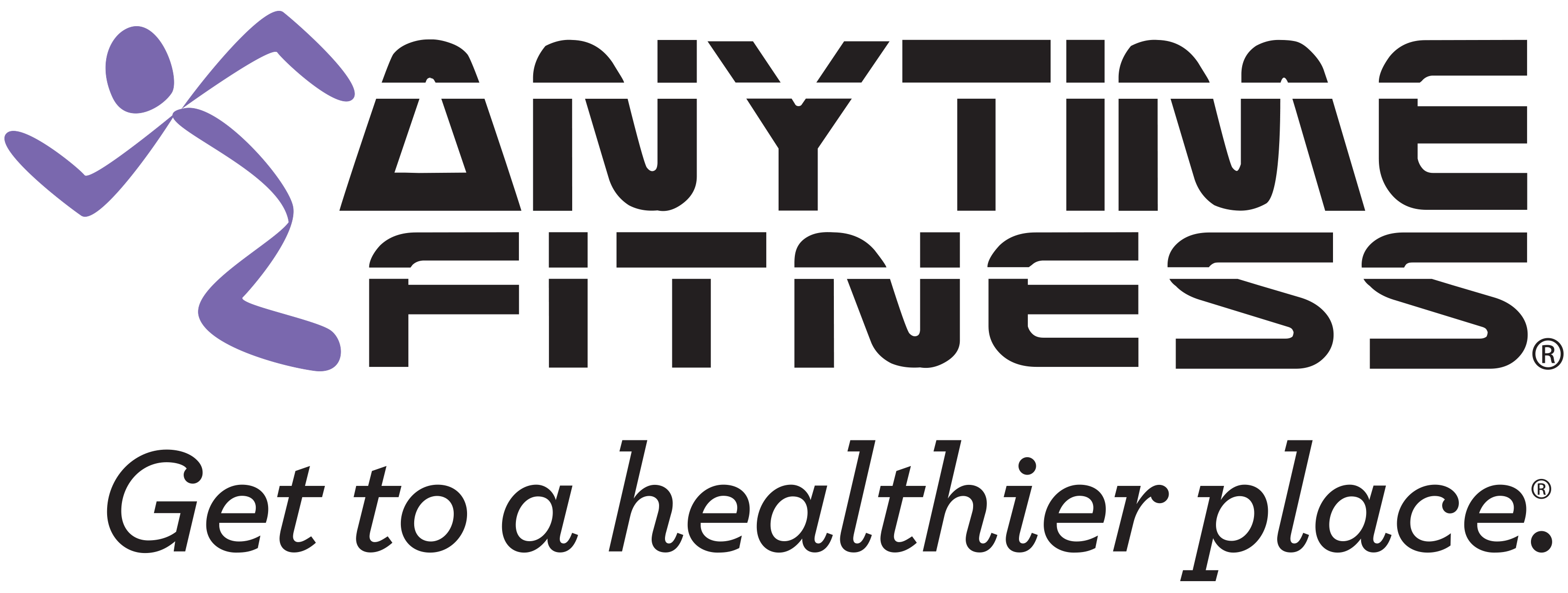 Anytime Fitness Mobile Logo
