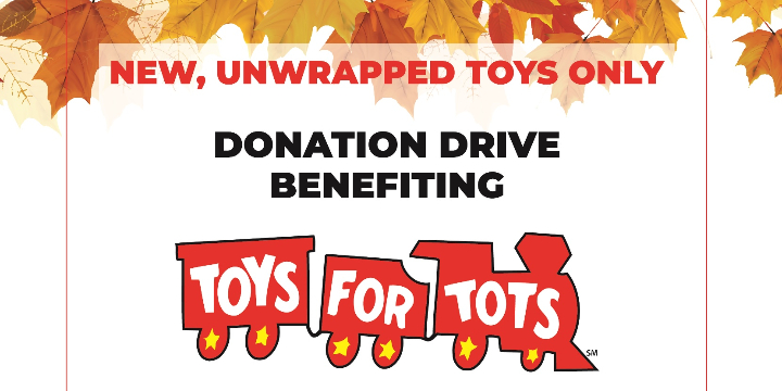 A Toy Drive Donation Box Benefiting Veteran Families! offer image