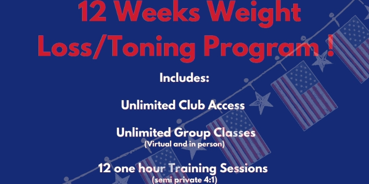 $399.99 for 12 weeks weight loss/Toning Program  at Alana Life & Fitness (28% discount) - Partner Offer Image
