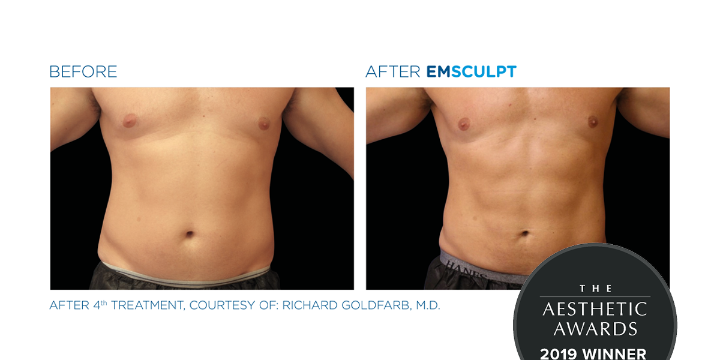 Buy a $500 GC worth $1000 toward an Emsculpt Pkg of 4 offer image