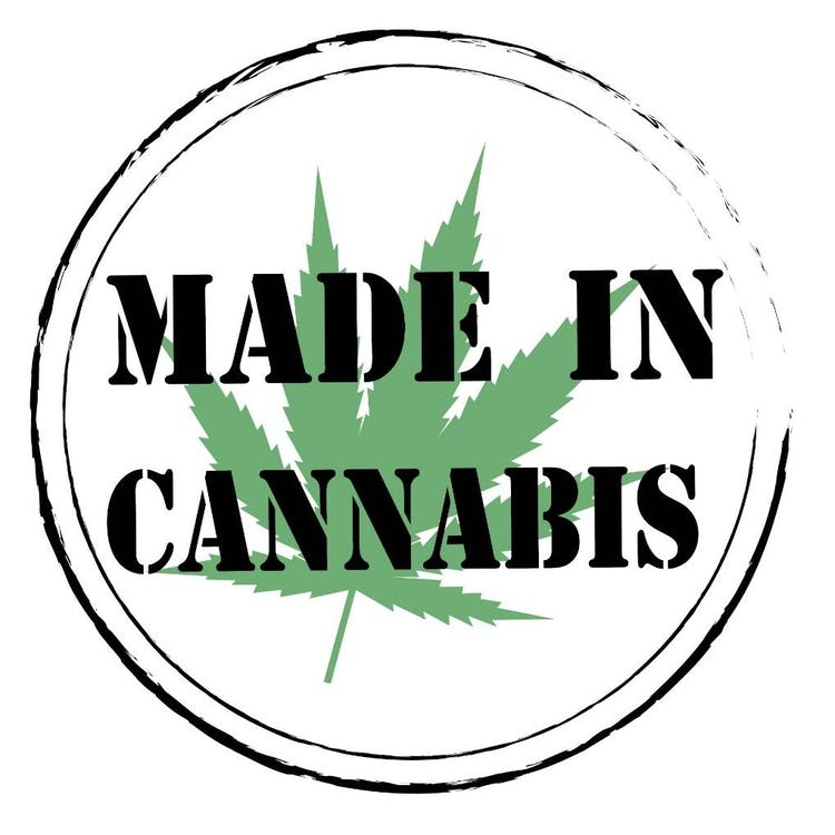 Made In Cannabis Mobile Logo