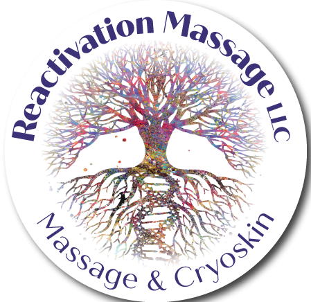 Reactivation Massage Martinsville Logo
