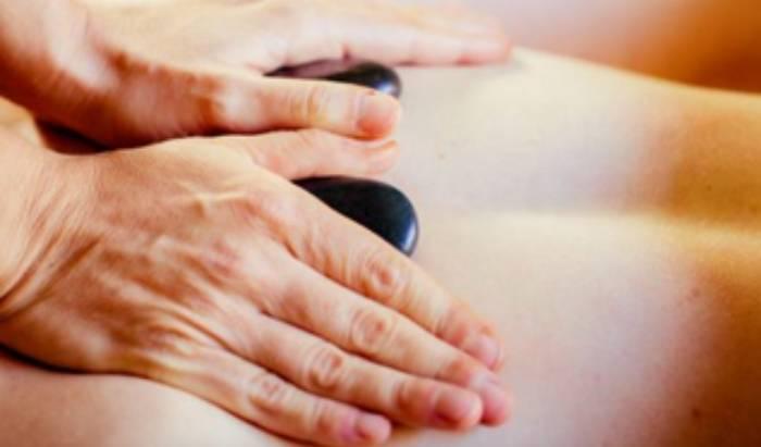 Massage + Hot Stones image