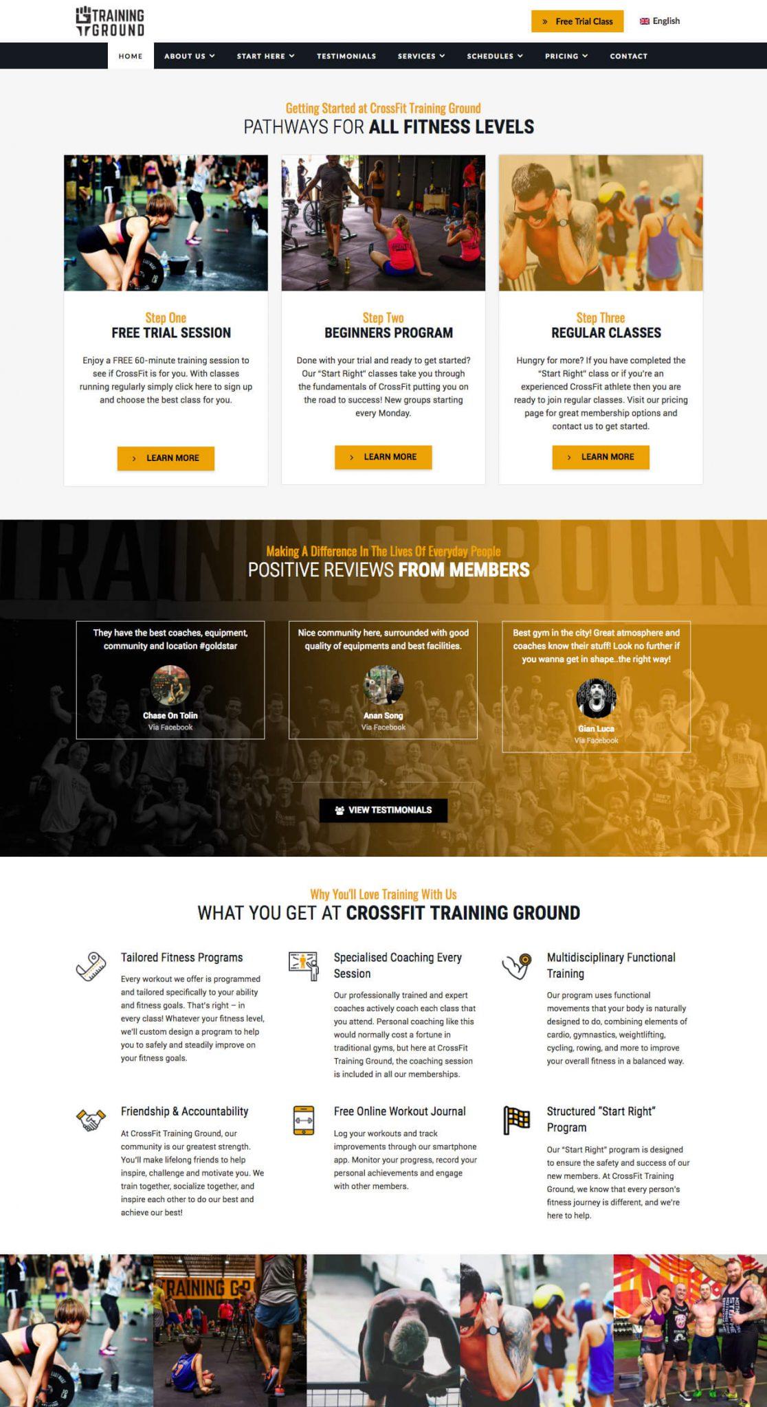 Fitness in Training by Monda Logo