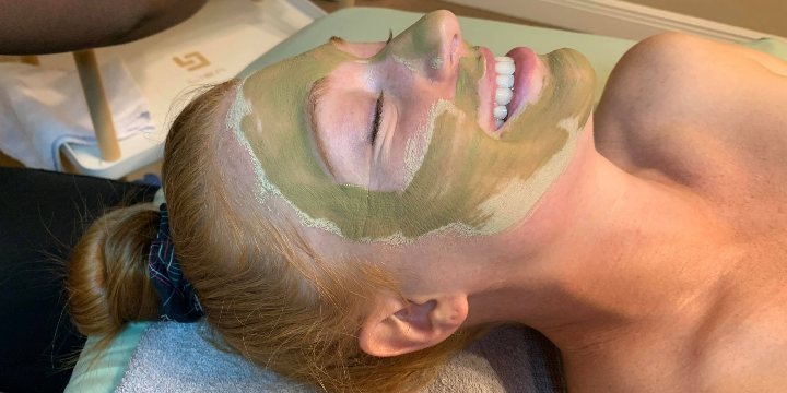 40% OFF First Time Client Facial offer image