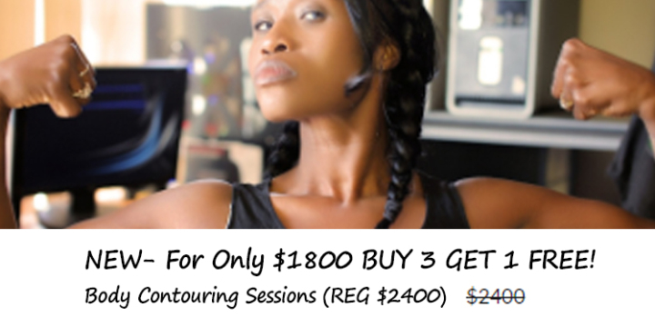 NEW- For Only $1800 BUY 3 GET 1 FREE! Body Contouring Sessions - Partner Offer Image