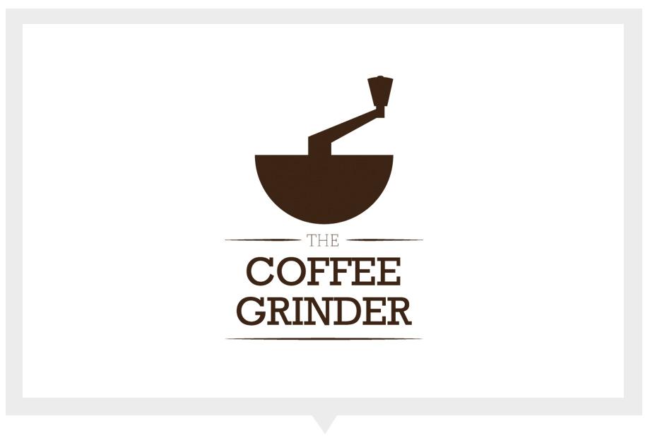 Grinder Coffee Logo