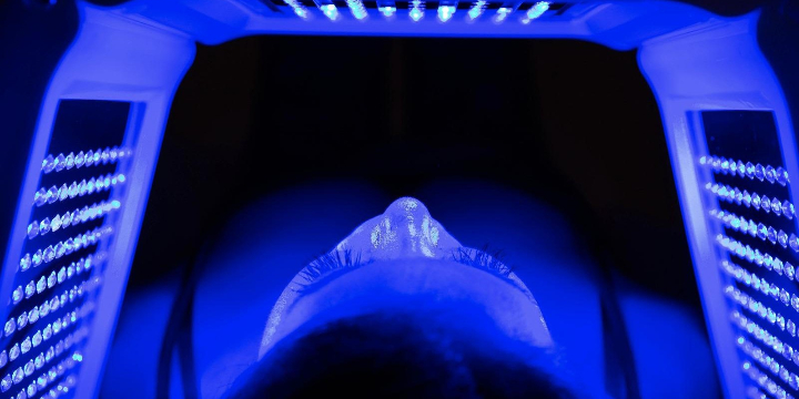 Complimentary Soothing HydroJelly mask with Custom Photon Light Therapy with any booked service offer image