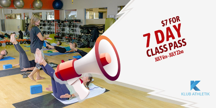 EXCLUSIVE: $7 for 7 Day Class Pass! ($140 Value) offer image