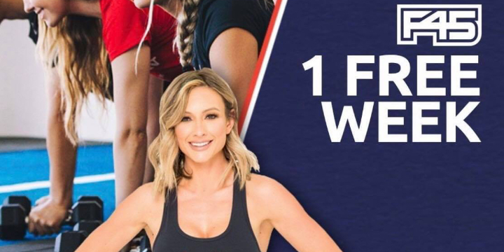 1 WEEK FREE TRIAL! of at F45 Training Coconut Creek - Partner Offer Image